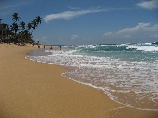 Пляж отеля Lanka Supercorals 2* (Ланка Суперкоралс)