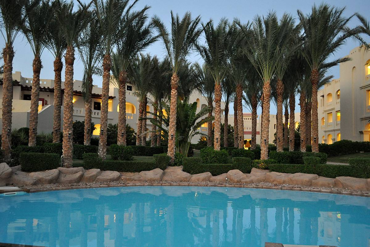 swim pool ����� Rixos Sharm El Sheikh 5*  (������ ���� ��� ����)