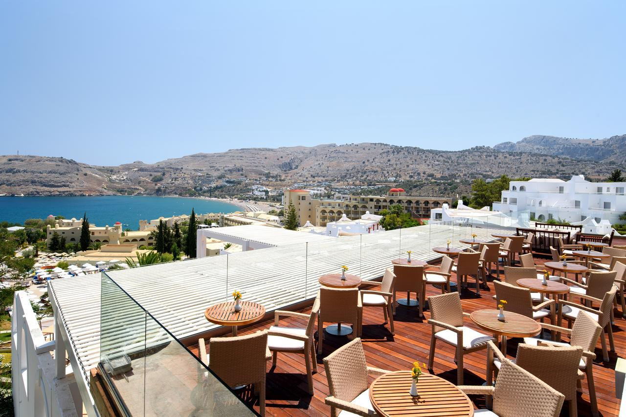 Кафе отеля Lindos Village Resort & Spa 4*  (Линдос Вилладж Резорт Энд Спа)