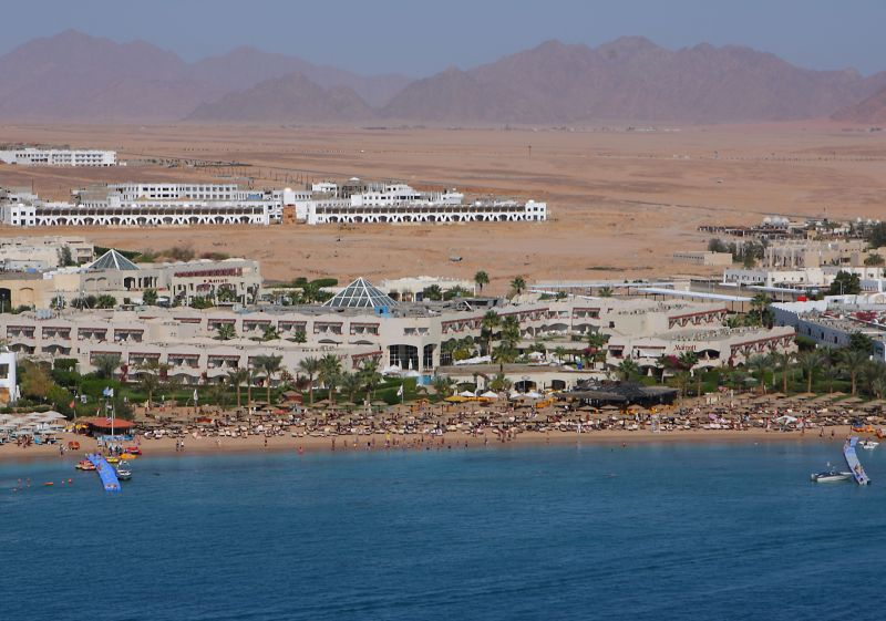 Вид отеля Marriott Beach Resort Sharm 5*  (Мариотт Бич Резорт Шарм)