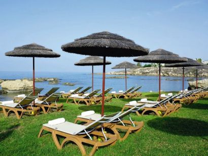 пляж отеля Atlantica Golden Beach 4*