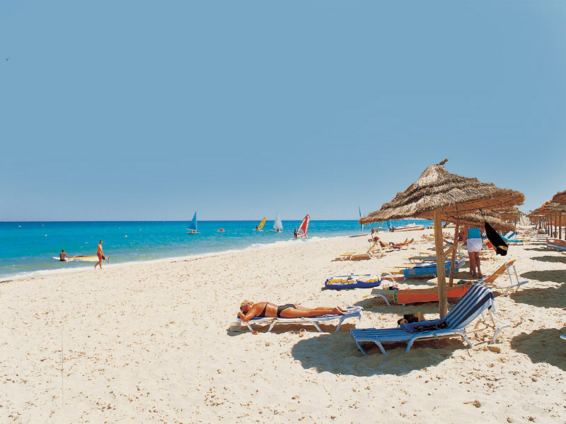 Пляж отеля Solarus Golden Beach 4*