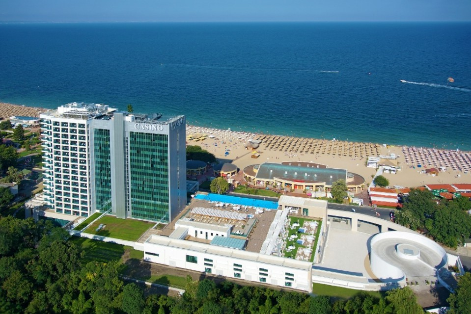 корпус отеля International Hotel Casino & Tower Suites 5*  (Интернационал)