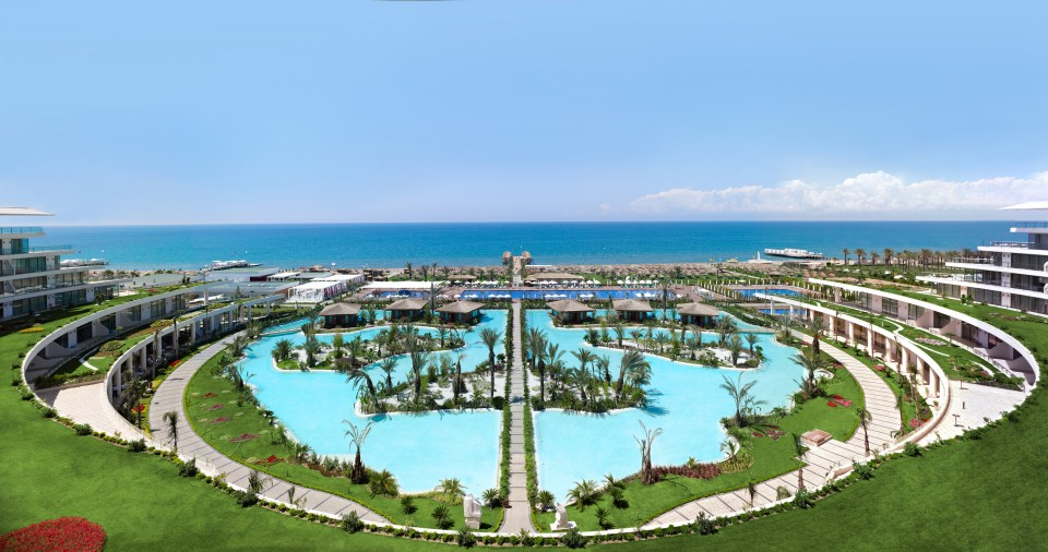 ОТЕЛЬ ВЕСЬ отеля Maxx Royal Belek Golf Resort 5* HV1 (Макс Роял Белек Гольф Ресорт)