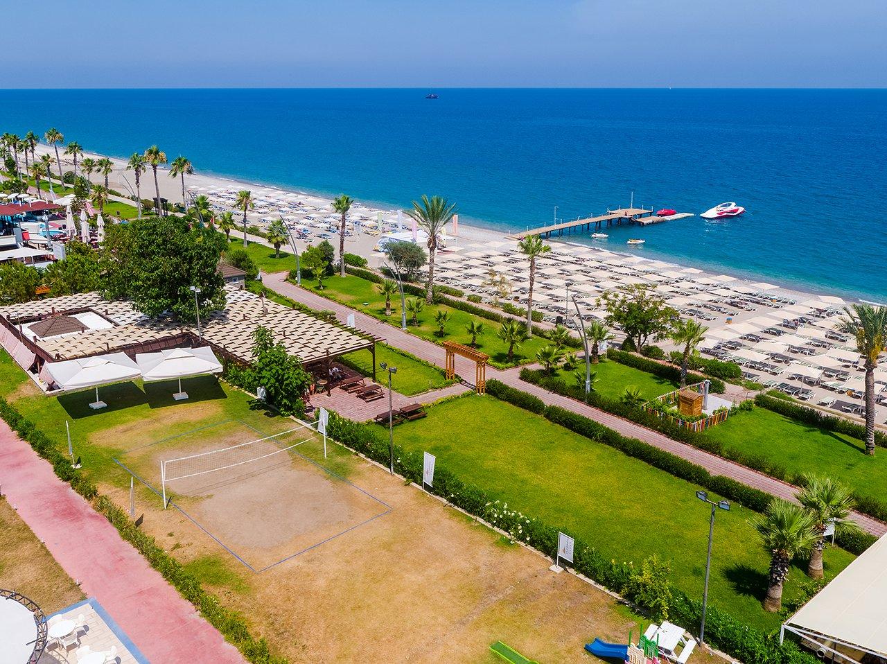 ⇒ Отель l`Oceanica Beach Resort Hotel 5* Л'Океаника Бич Резорт Отель •  Лучшие гостиницы в Кемере от Турфирмы Горящие туры Квадрат