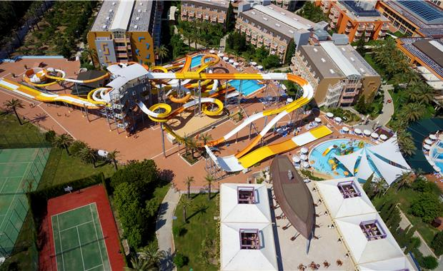 Горки отеля Splashworld Pegasos World 5*  (Сплеш Ворлд Пегасос)
