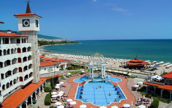 Вид с отеля отеля Royal Palace Helena Sands 5*