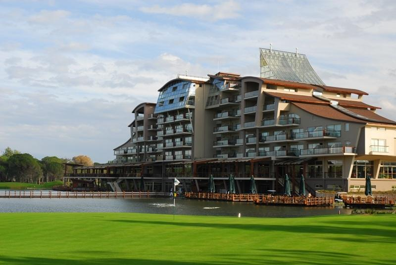 Экстерьер отеля Sueno Hotels Golf Belek 5*  (Sueno Hotels Golf Belek)