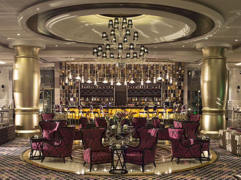 lobby bar отеля Alva Donna Exclusive Hotel & Spa 5*  (Альва Донна Эксклюзив Хотел Энд Спа)