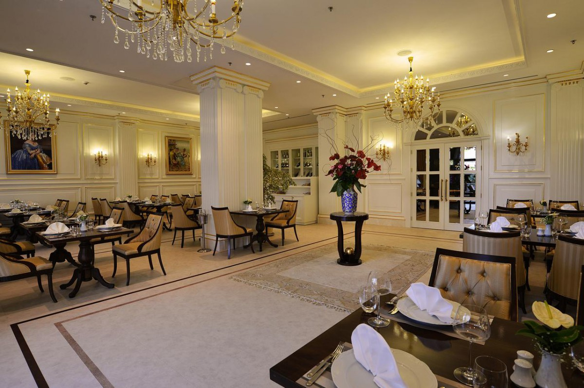 a la carte отеля Alva Donna Exclusive Hotel & Spa 5*  (Альва Донна Эксклюзив Хотел Энд Спа)