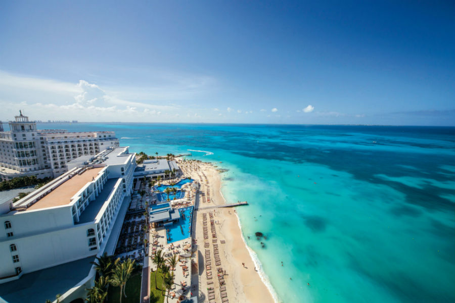Пляж отеля Riu Cancun 5*  (Риу Канкун)