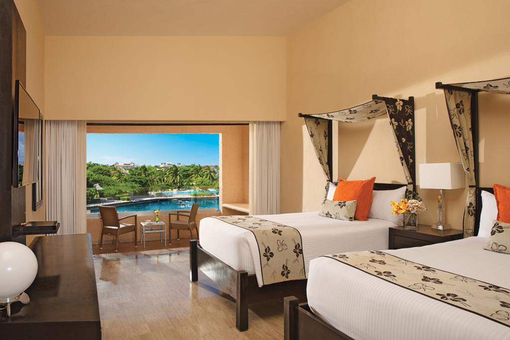 Номер отеля Dreams Puerto Aventuras Resort & Spa 5*  (Дримс Пуэрто Авентурас)