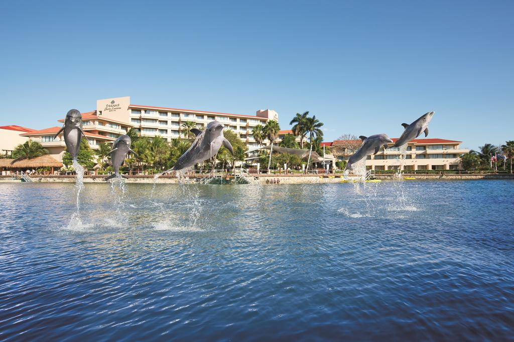 Экстерьер отеля Dreams Puerto Aventuras Resort & Spa 5*  (Дримс Пуэрто Авентурас)