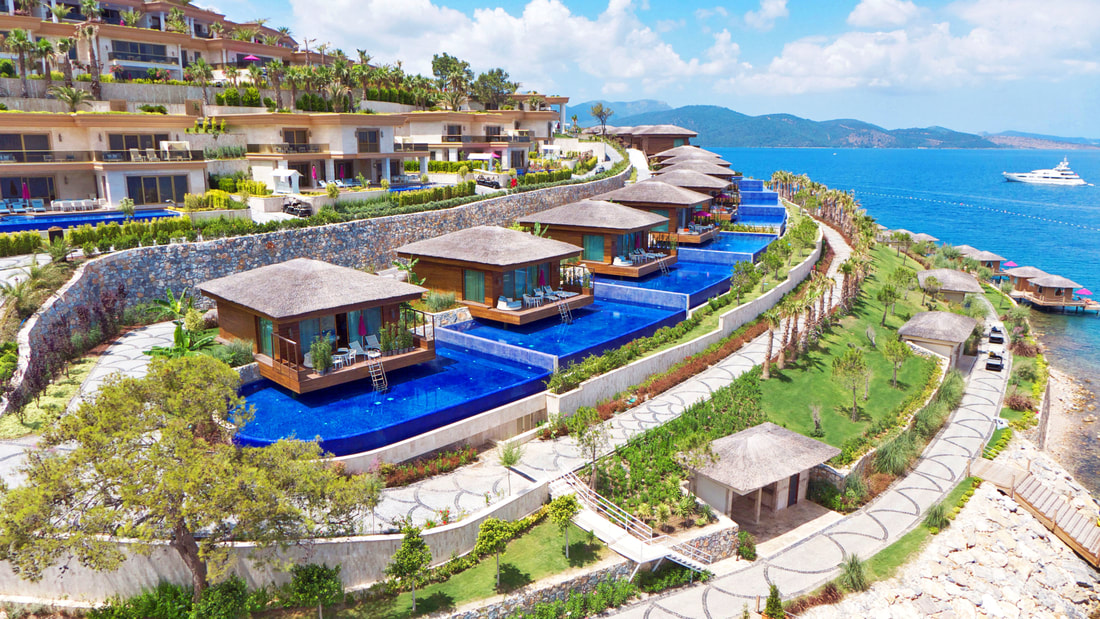 Отель The Bodrum By Paramount Hotels Rerort 5*  Зе Бодрум Бай Парамаутн Холетс Резорт