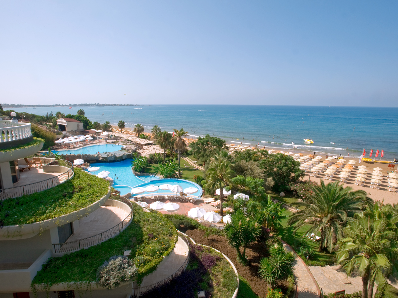 Отель Crystal Sunrise Queen Luxury Resort & Spa 5*  Кристал Санрайз Квин Лакшери Резорт Энд Спа
