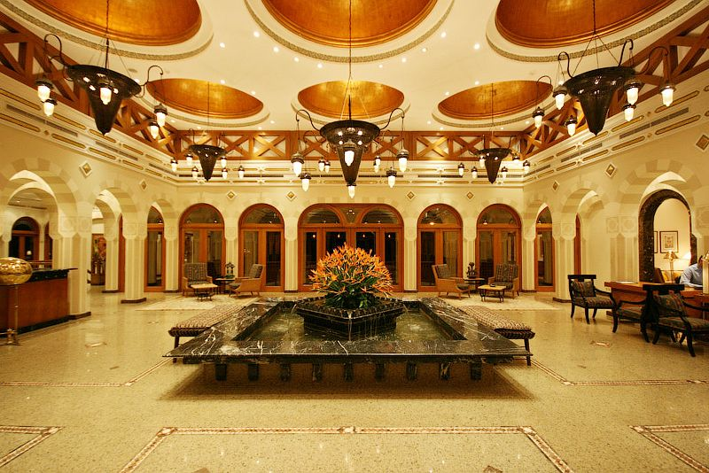 Холл отеля The Oberoi Sahl Hashesh 5*  (Зе Оберой Сахл Хашиш)