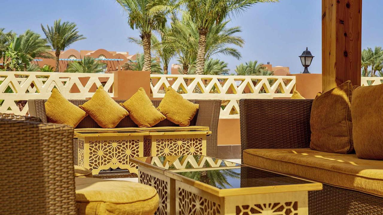 кафе отеля Club Magic Life Sharm El Sheikh Imperial 5*  (Меджик Лайф Шарм)