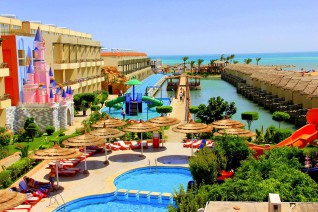 Отель Panorama Bungalows Hurghada Resort 4*  Панорама Бунгалос Резорт Хургада