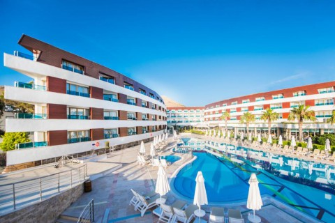 Отель Grand Park Bodrum 5*  Grand Park Bodrum Yelken Resort