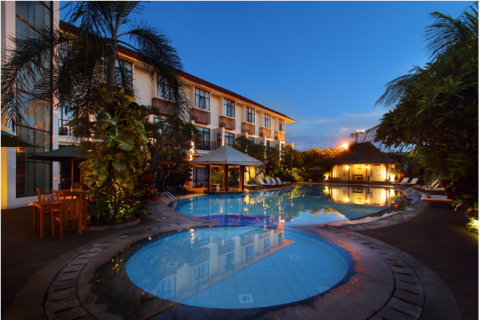 Best Western Resort Kuta 3*+