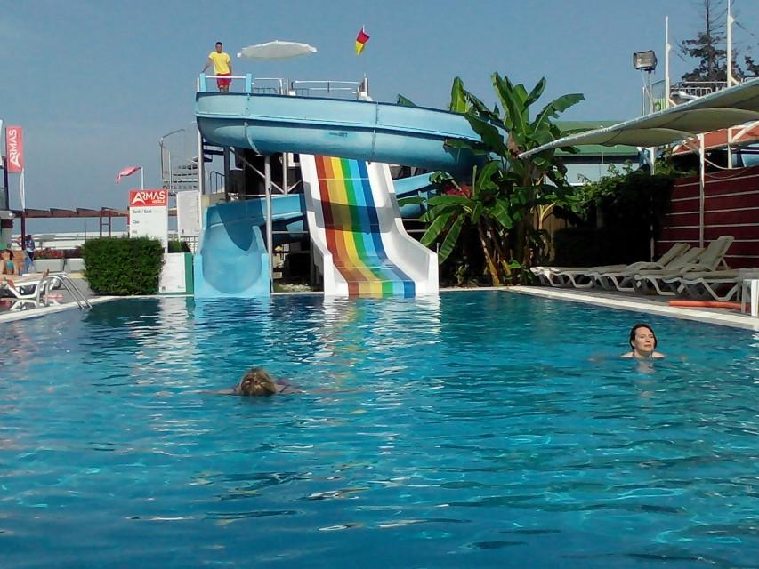 отель армас бич кемер турция фото общем